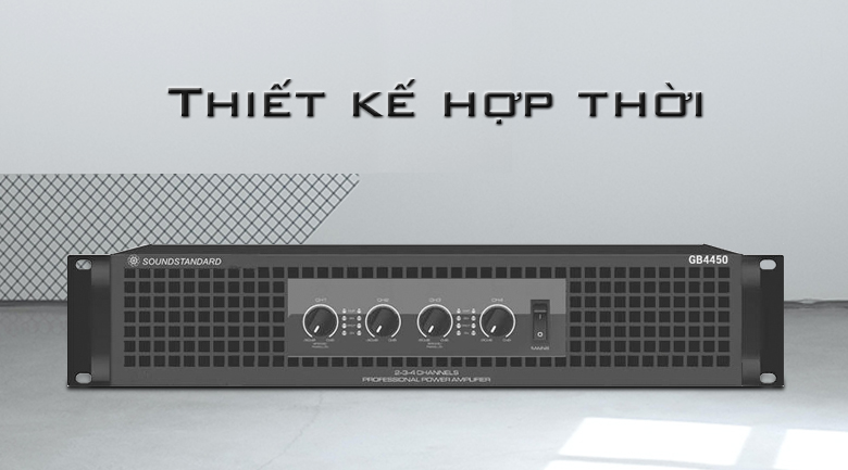 Cục đẩy soundstandard GB4450 | Thiết kế hợp thời
