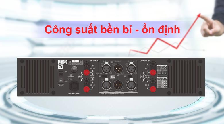 Cục đẩy soundstandard GB4450 | Cống suất bền bỉ - ổn định