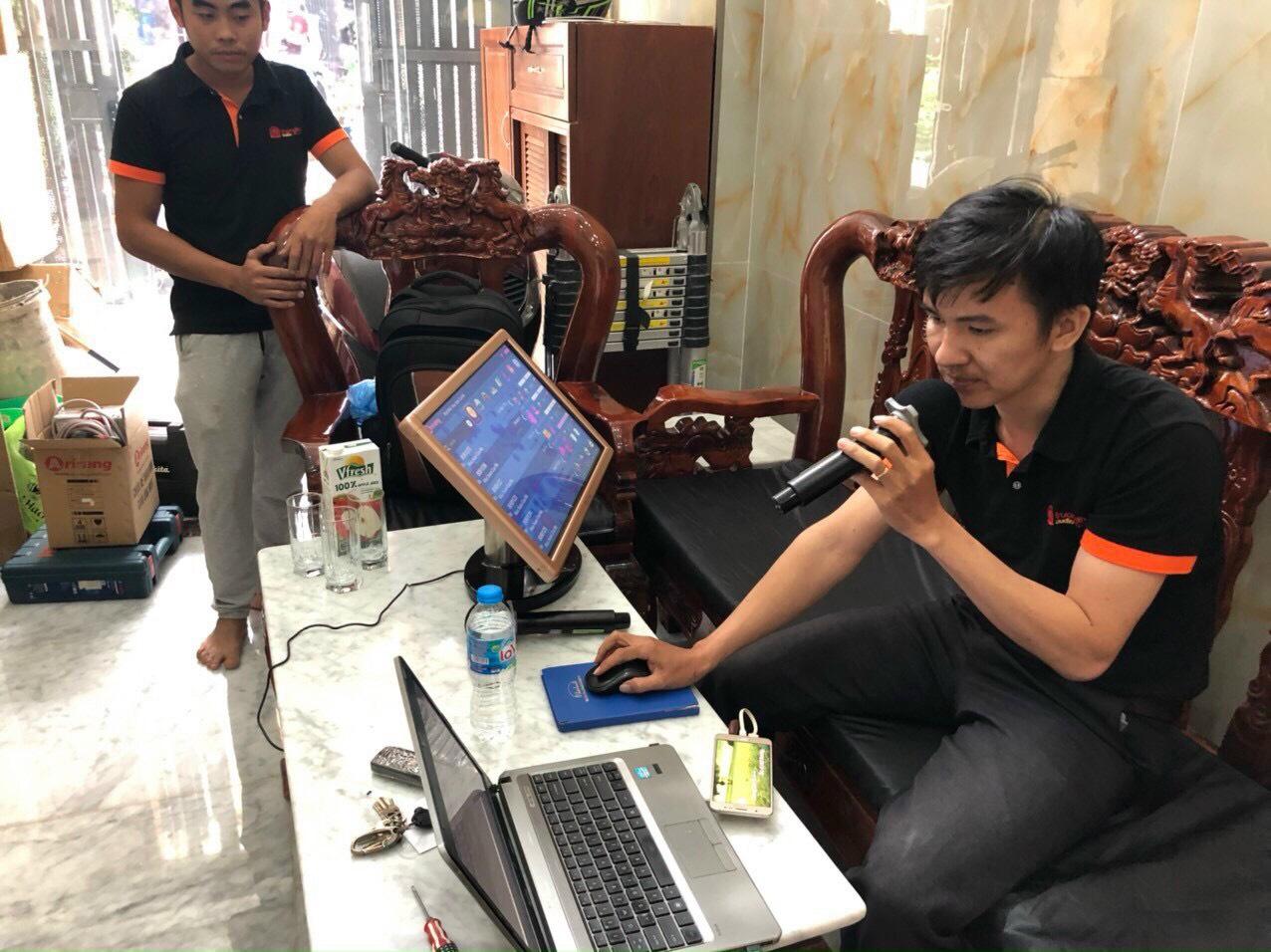 Bộ dàn karaoke gia đình cao cấp (4-ACOUSTIC PCS 112Q + PCS-118BQ) 2
