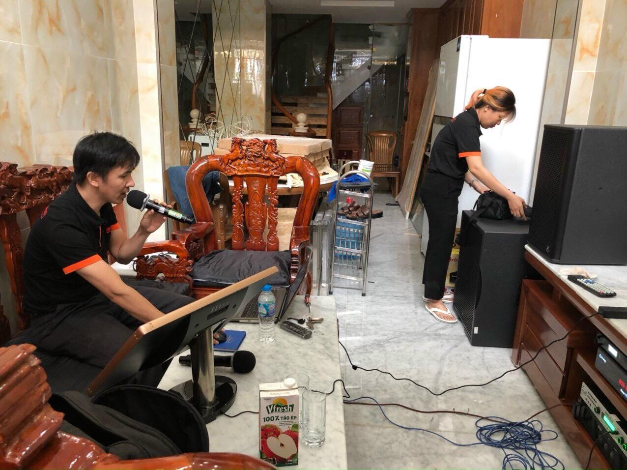 Bộ dàn karaoke gia đình cao cấp (4-ACOUSTIC PCS 112Q + PCS-118BQ) 3