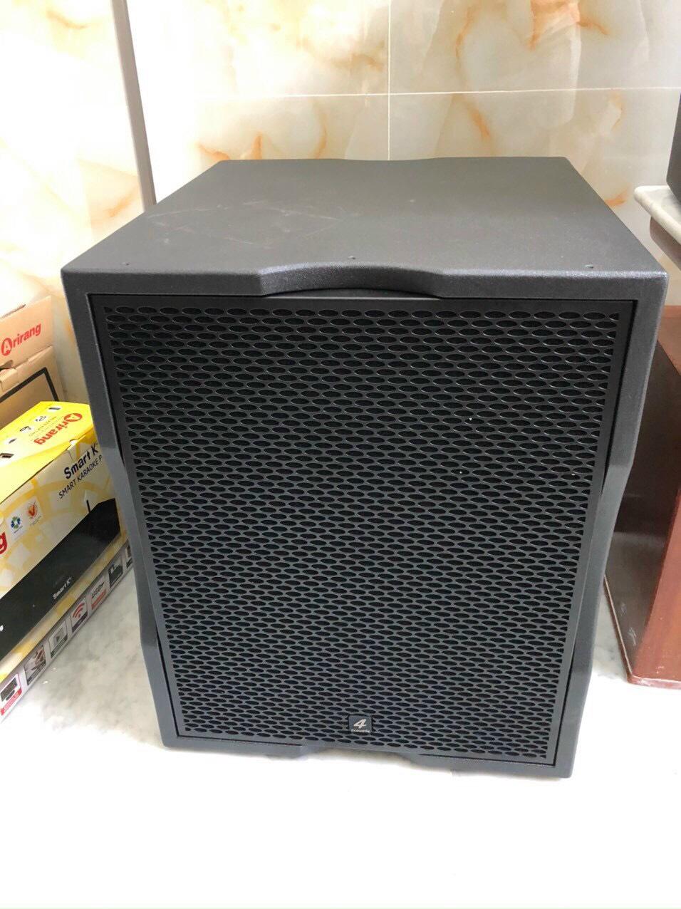 Bộ dàn karaoke gia đình cao cấp (4-ACOUSTIC PCS 112Q + PCS-118BQ) 4