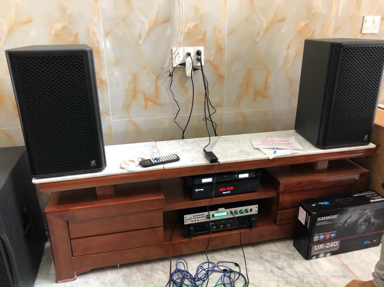 Bộ dàn karaoke gia đình cao cấp (4-ACOUSTIC PCS 112Q + PCS-118BQ) 5