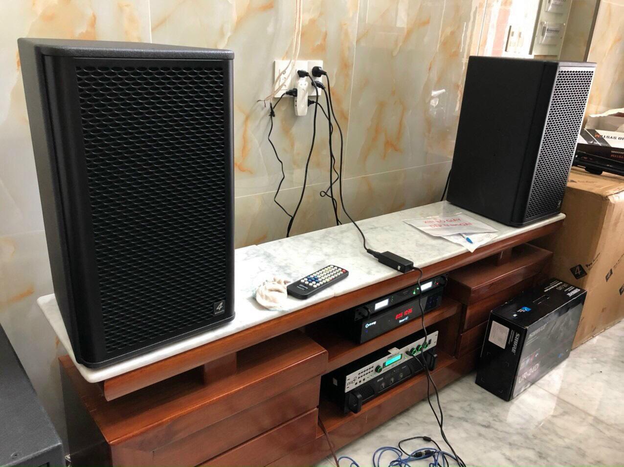 Bộ dàn karaoke gia đình cao cấp (4-ACOUSTIC PCS 112Q + PCS-118BQ) 6