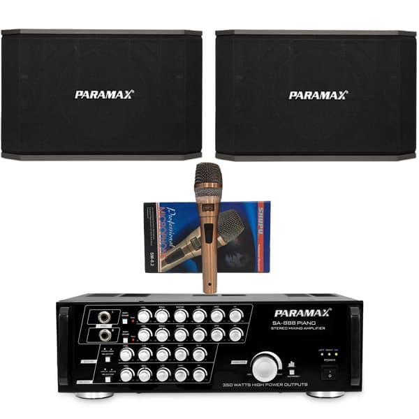 Dàn karaoke Paramax TT01