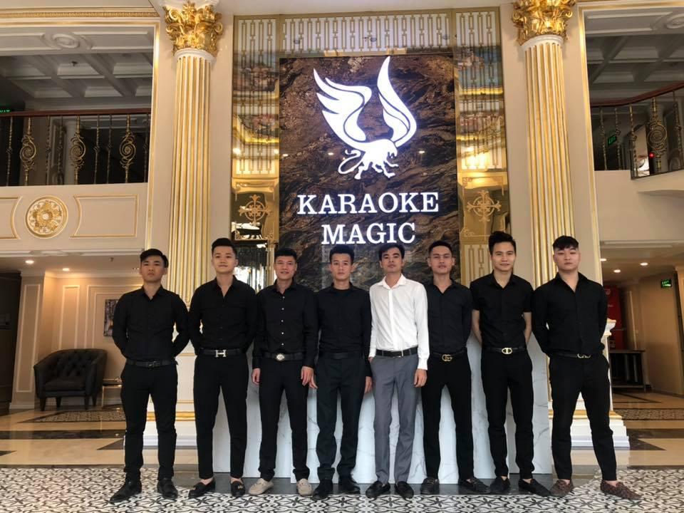Quán Karaoke MAGIC Thái Thịnh sang trọng và đẳng cấp