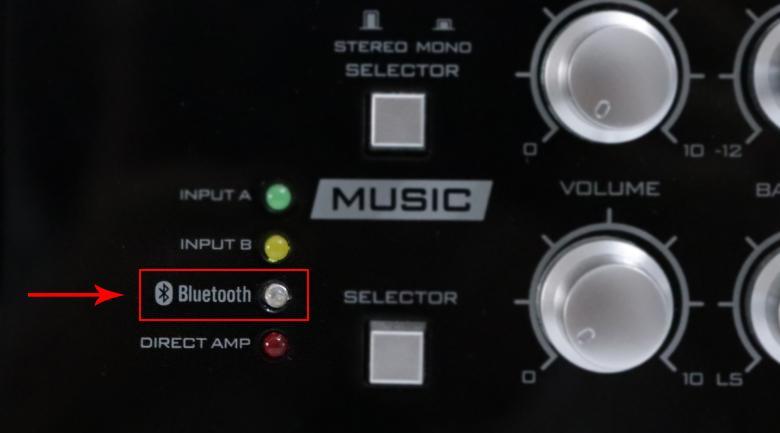 Kết nối amply với điện thoại bằng bluetooth