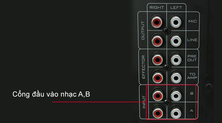 Hướng dẫn kết nối amply với điện thoại bằng cổng AV 3.5