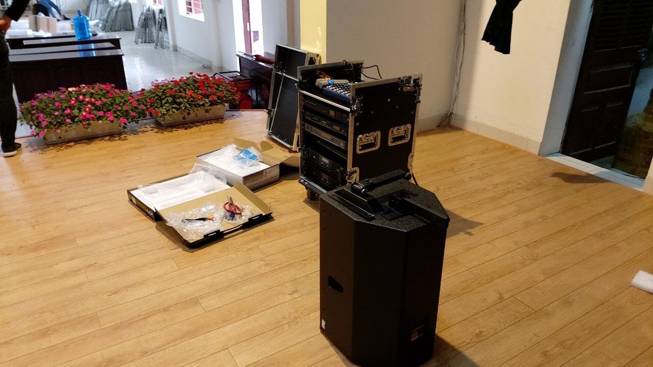 Lắp đặt hệ thống âm thanh hội trường tại TPHCM 5