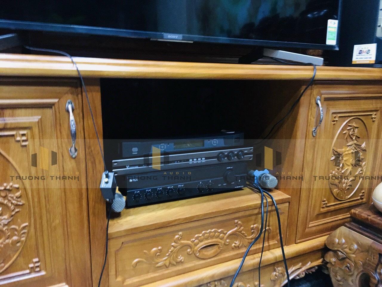 Lắp đặt bộ dàn karaoke BMB chính hãng 4