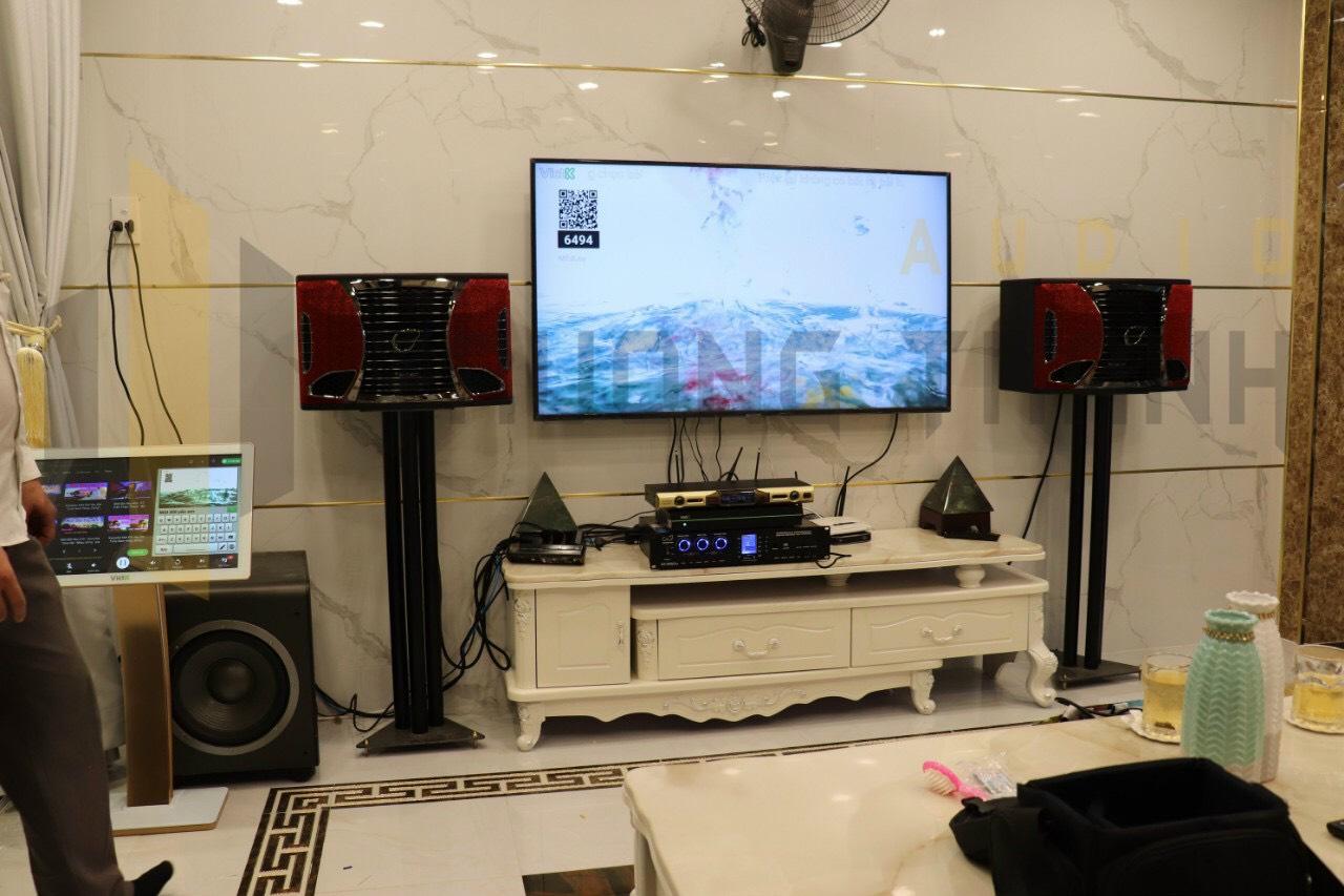 Lắp đặt dàn karaoke gia đình cho chung cư 2