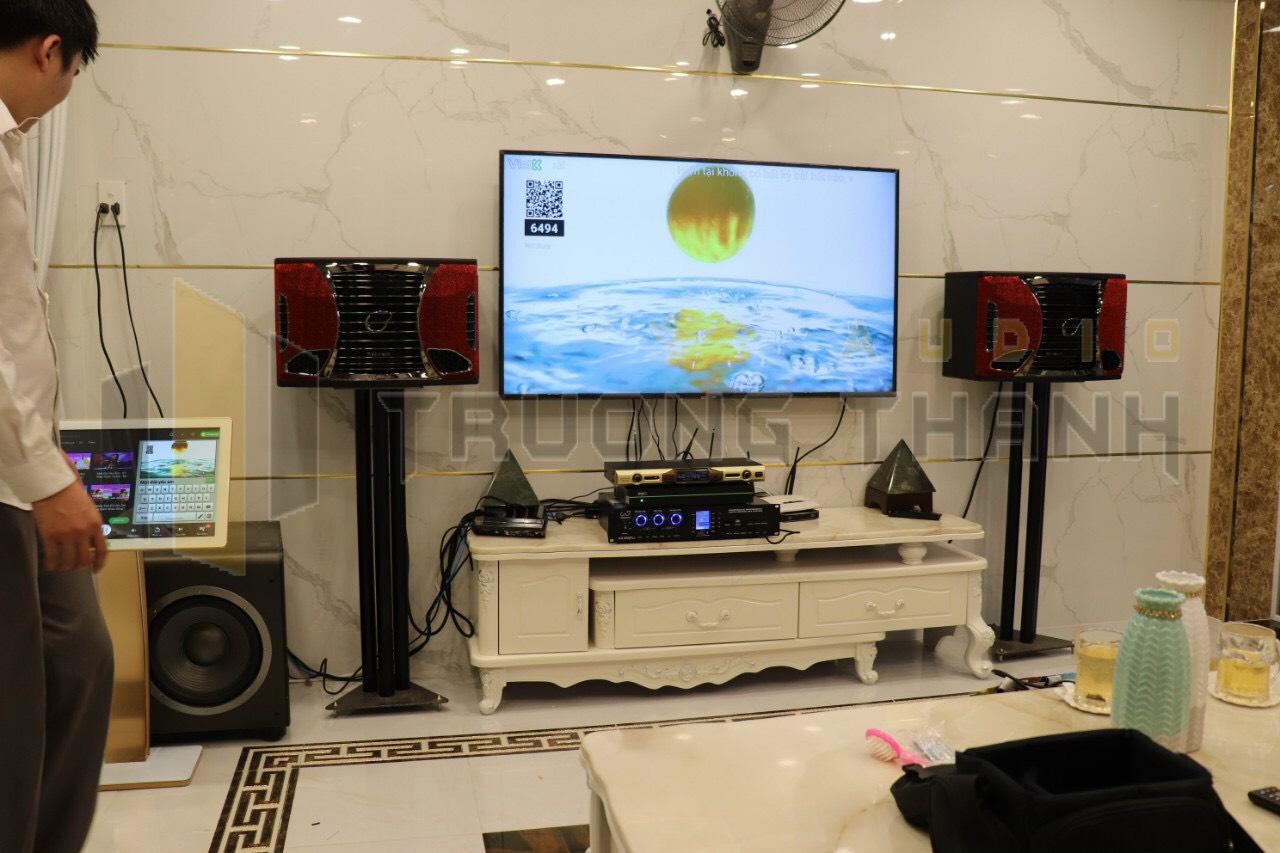 Lắp đặt dàn karaoke gia đình cho chung cư 3