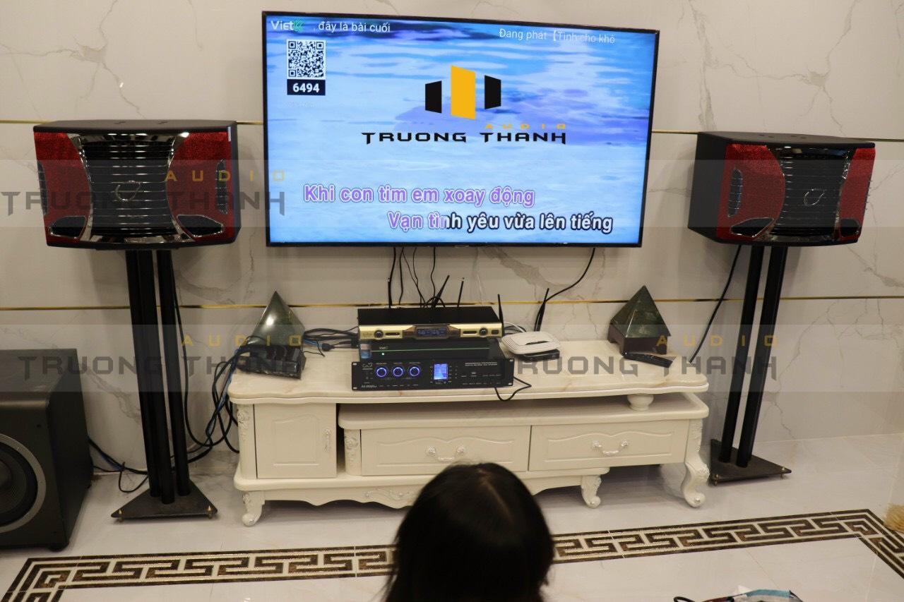 Lắp đặt dàn karaoke gia đình cho chung cư 4