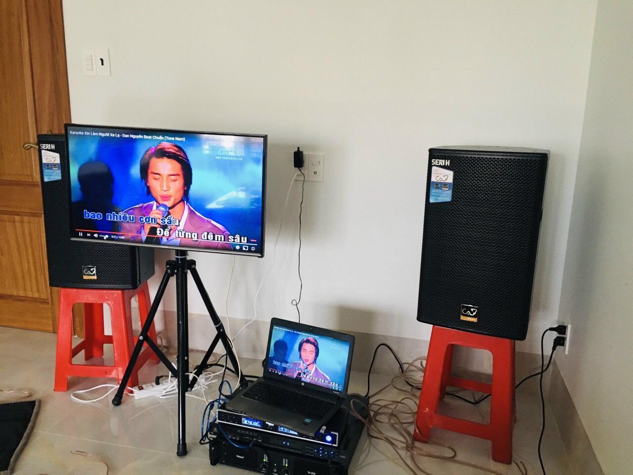 Lắp đặt bộ dàn karaoke gia đình giá rẻ 3