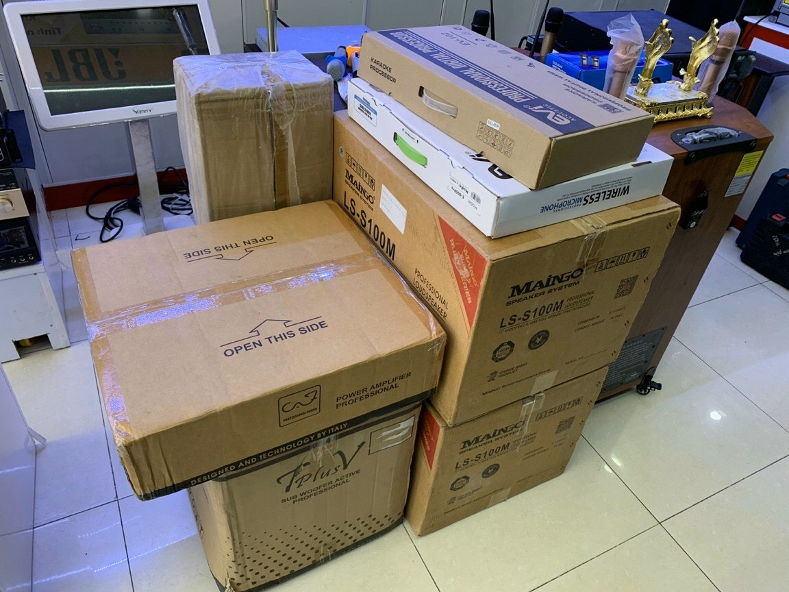 Lắp đặt bộ dàn karaoke gia đình TT-503GD tại TP Vũng Tàu 2