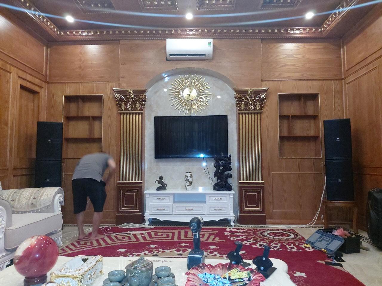 Lắp đặt dàn karaoke JBL cao cấp cho gia đình anh Hưng 2