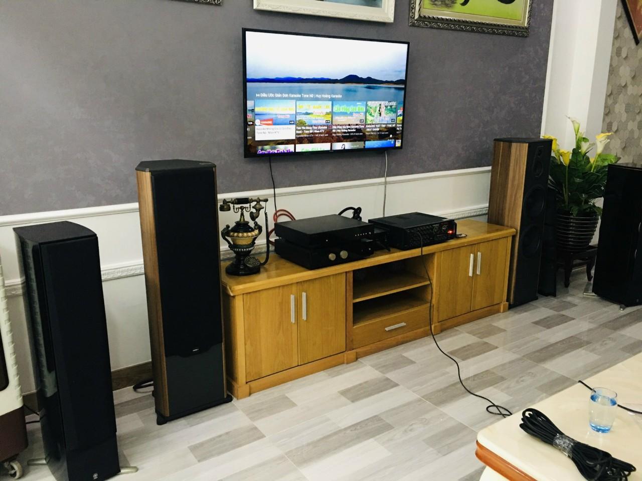 Lắp đặt dàn karaoke Paramax cho khách tại Quận 2, TP HCM 1