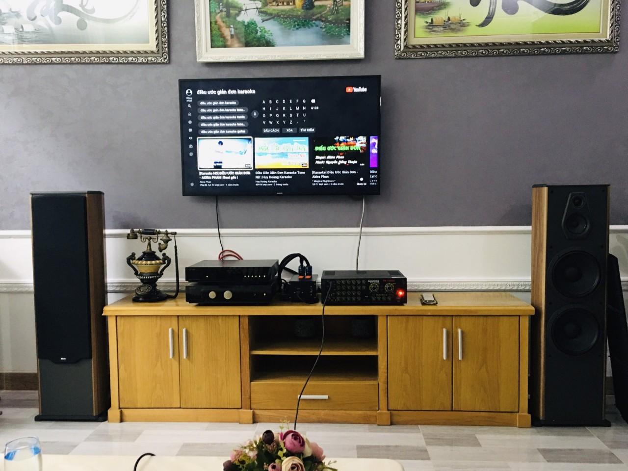 Lắp đặt dàn karaoke Paramax cho khách tại Quận 2, TP HCM 3