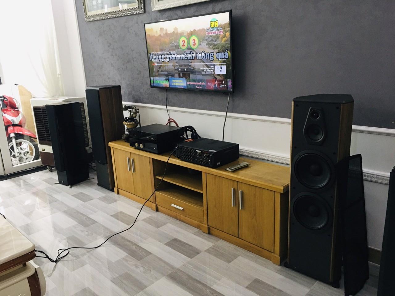 Lắp đặt dàn karaoke Paramax cho khách tại Quận 2, TP HCM 4