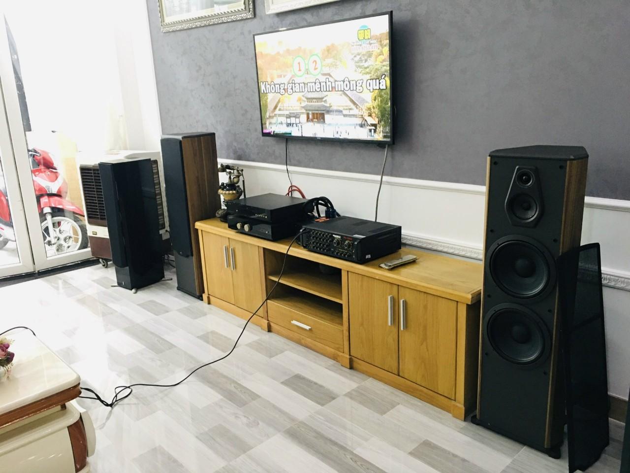 Lắp đặt dàn karaoke Paramax cho khách tại Quận 2, TP HCM 5
