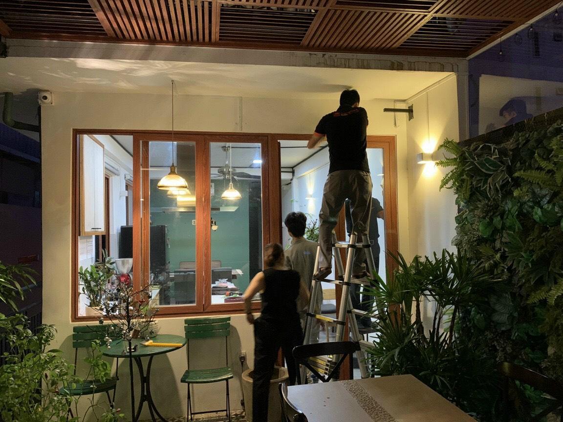 Lắp đặt dàn loa cho quán cafe tại Cần Thơ 7