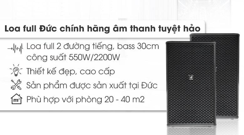 Loa 4-Acoustic SC-12 tính năng