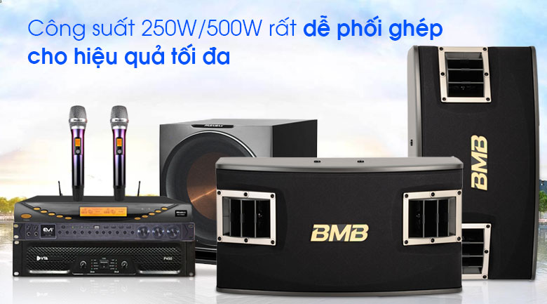 Loa BMB CSV 450 SE tính năng 1