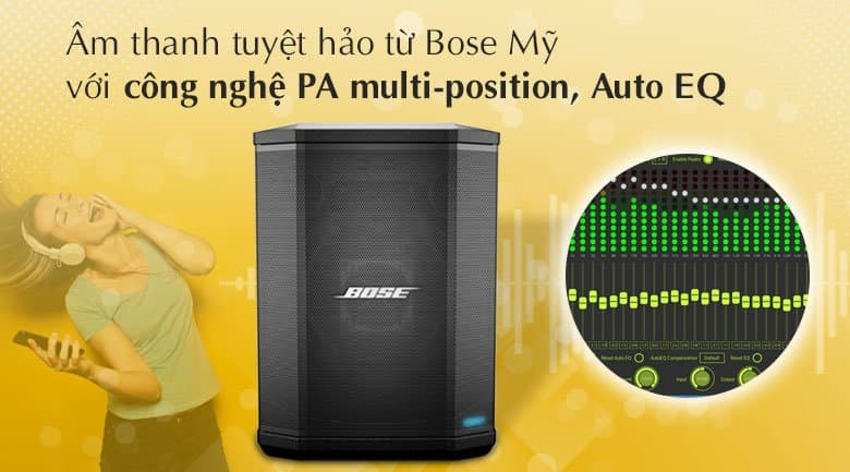 Loa Bose S1 Pro tính năng 3