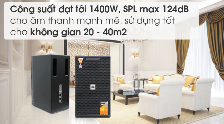 Loa JBL KES 6120 tính năng 5
