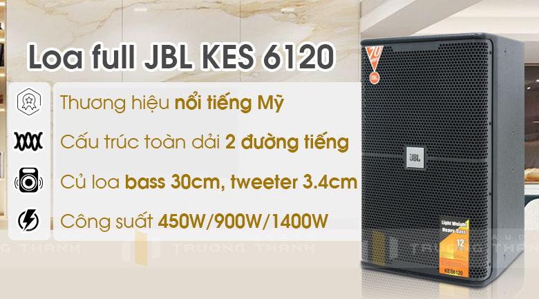 Loa JBL KES 6120 tính năng 6