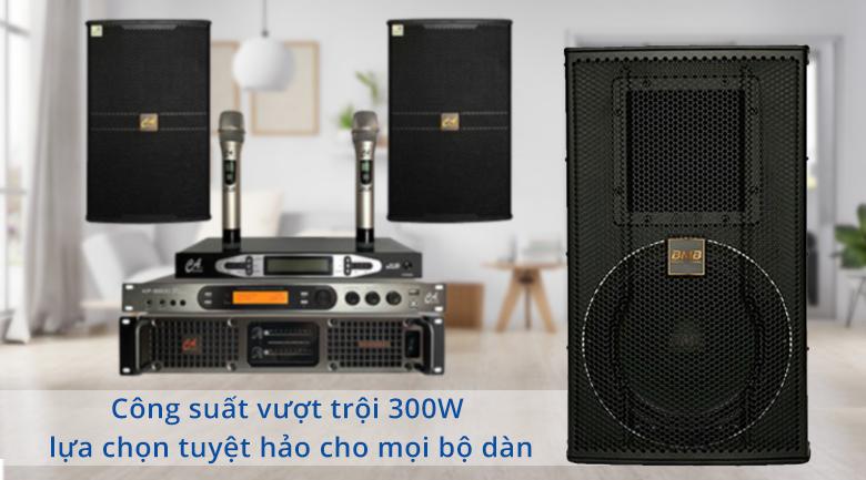 Loa karaoke BMB CSS 3010 | Công suất vượt trội 300W