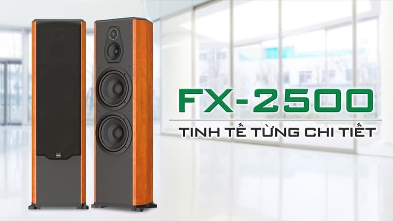 Loa Paramax FX 2500 được thiết kế tinh tế
