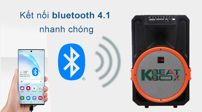Loa kéo Acnos KB39U | Kết bối bluetooth 4.1 nhanh chóng