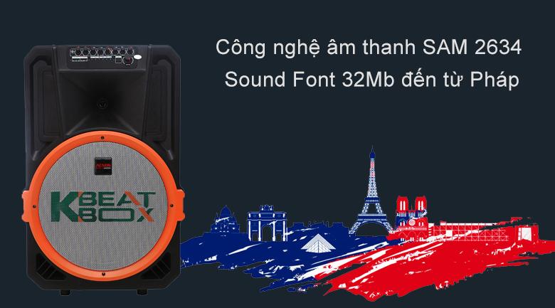Loa kéo Acnos KB39U | Công nghệ âm thanh đến từ Pháp