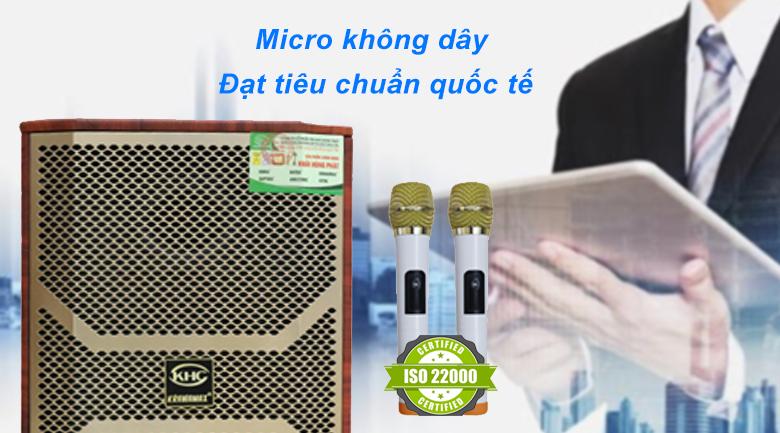 Loa kéo Krawamax KH B30G | Micro không dây tiêu chuẩn quốc tế