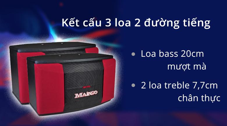 Loa Maingo LS-355 MKII | kết cấu chuẩn mực cho âm thanh mượt mà chân thực