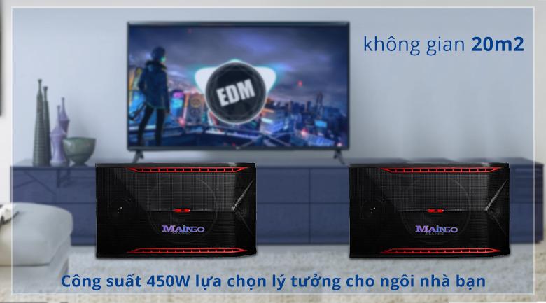 Loa Maingo LS-555M   Cống suấy 450W lực chọn lý tưởng cho không gian 20m2