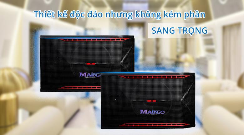 Loa Maingo LS-555M   Thiết kế độc đáo nhưng không kém phần sang trọng