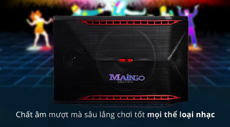 Loa Maingo LS-555M   Chất âm mượt mà sâu lắng chơi tốt mọi thể loại nhạc