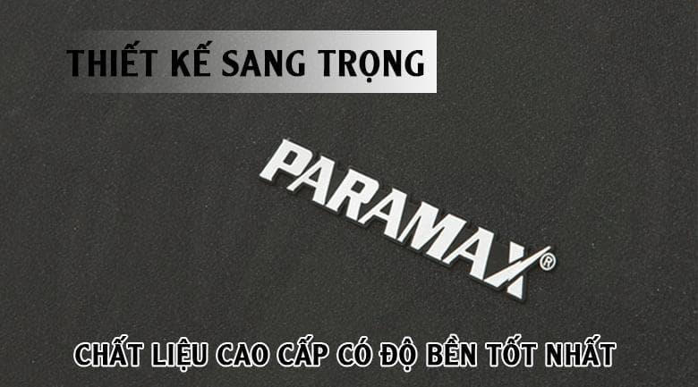 Loa paramax K850 New | Chất liệu siêu bền