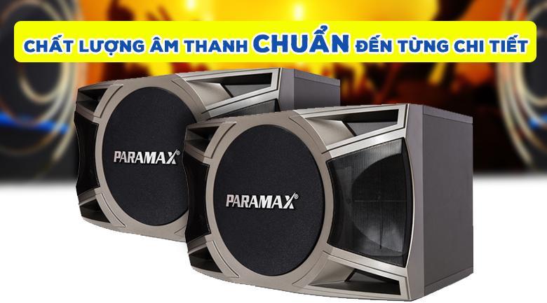 Loa Paramax D-1000 | Chất âm chuẩn đến từng chi tiết