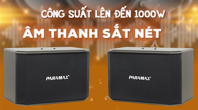 Loa Paramax K1000 New   Công suất khủng lên đến1000W