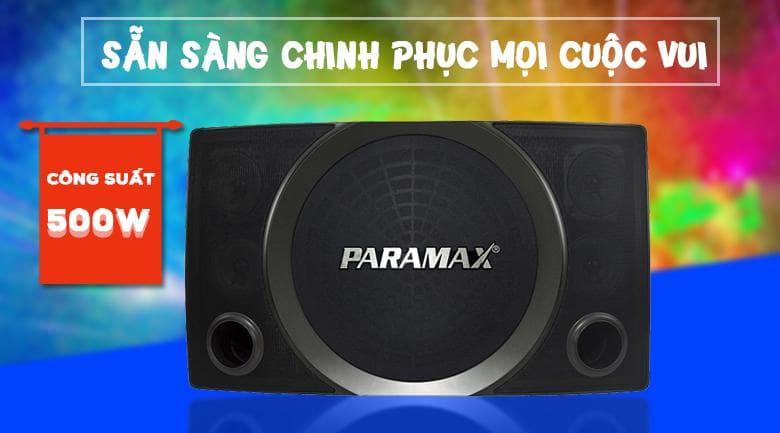 Loa Paramax SC-2500 | Công suất 500w chinh phục mọi cuộc vui