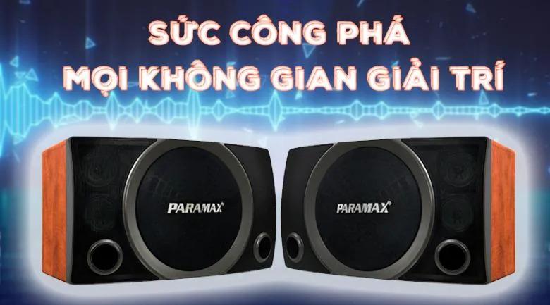 Loa Paramax SC-3500 | Công sức công phá mọi không gian giải trí
