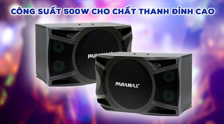 Loa Paramax P1000 | Công suất 500W cho chất âm đỉnh cao