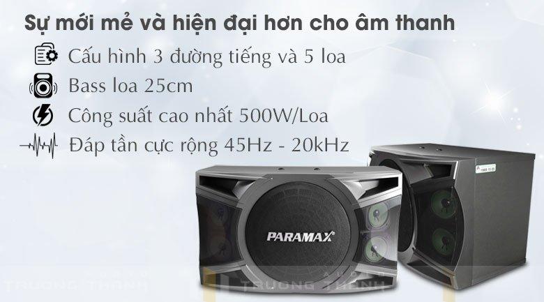 Loa Paramax P-1000 new tính năng 1