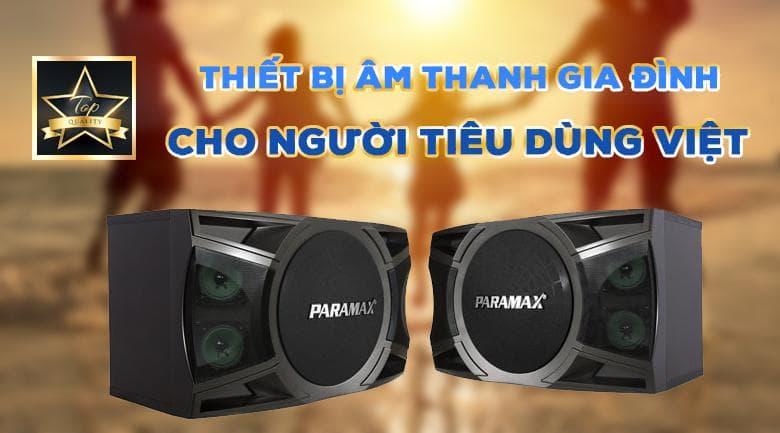 Loa Paramax P-2000 New | Chuẩn thiết bị âm thanh gia đình cho người Việt