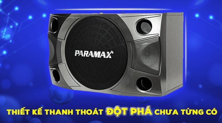 Loa Paramax P850 New | Thiết kế đột phá thanh thoát chưa từng có
