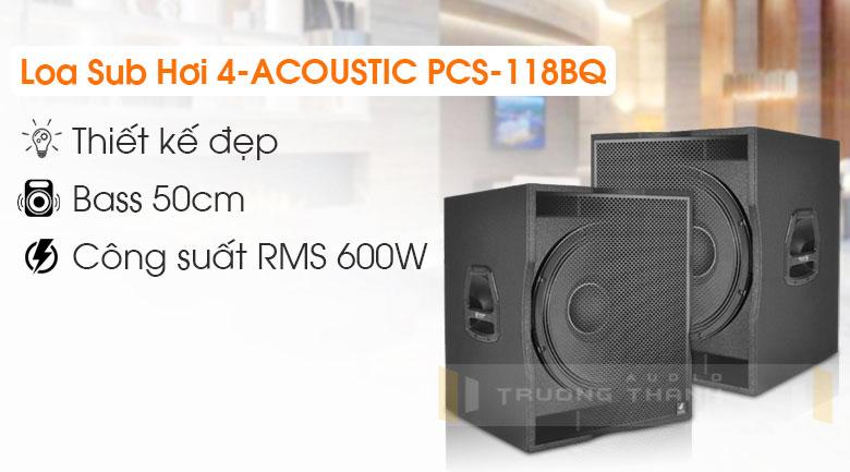 Loa Sub 4-Acoustic PCS-118BQ 6
