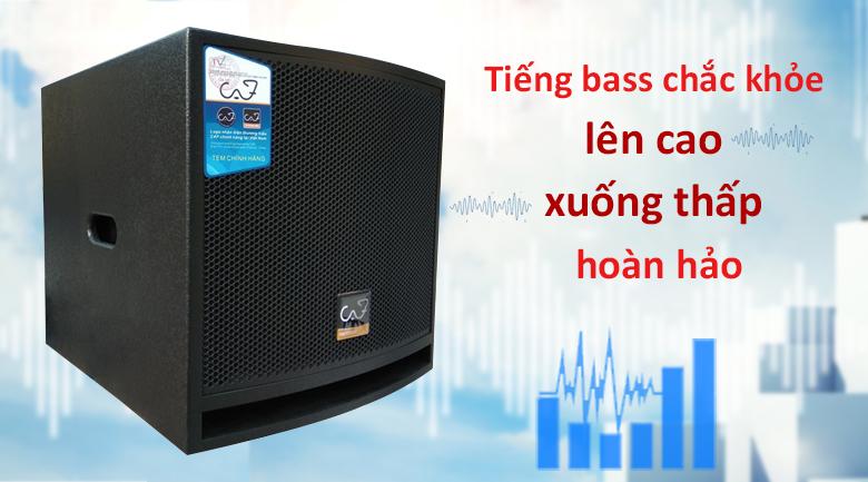LOA SUB ACTIVE CAF KING 12S new 2019 | tiếng bass chắc khỏe