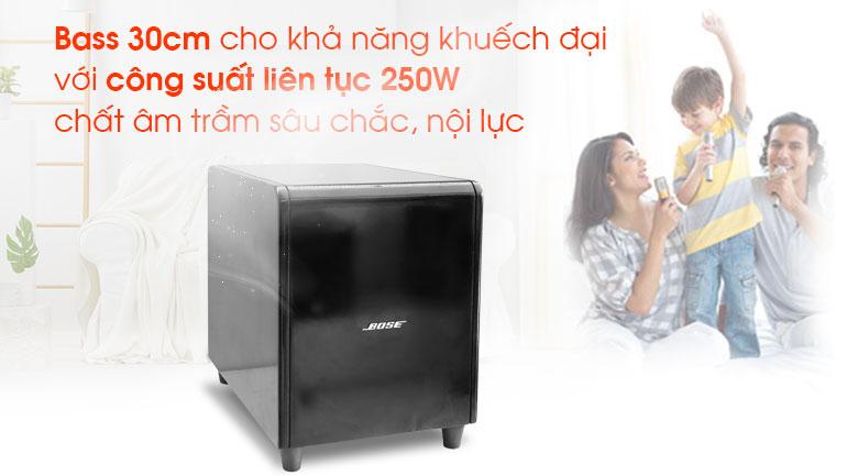 Loa sub Bose 1200 tính năng 2